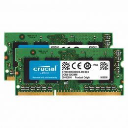 Crucial 8GB (2 x 4GB) DDR3L Laptop Memory Module Kit